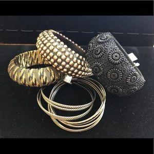 Jewelry - Styled 4- Piece Bangle Bundle